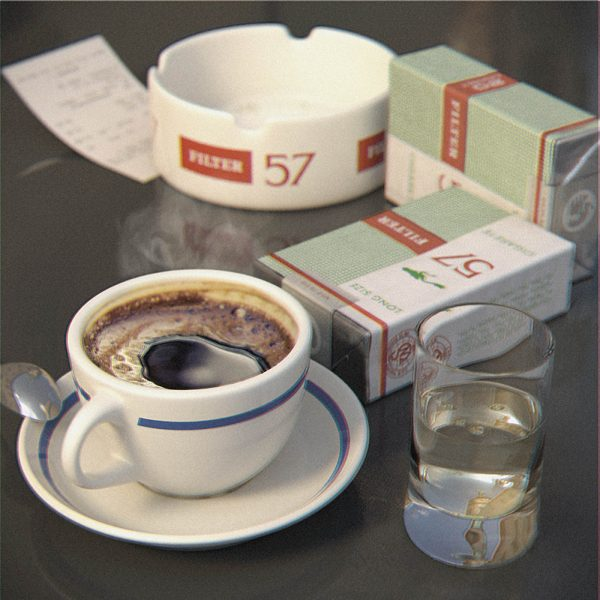 80's coffee & cigarettes