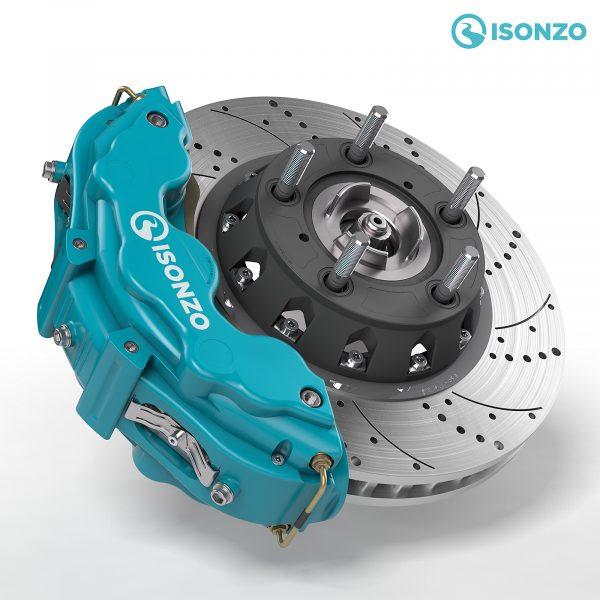 Isonzo brake caliper