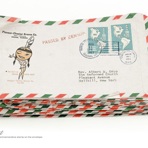 The President STAMP ENVELOPE